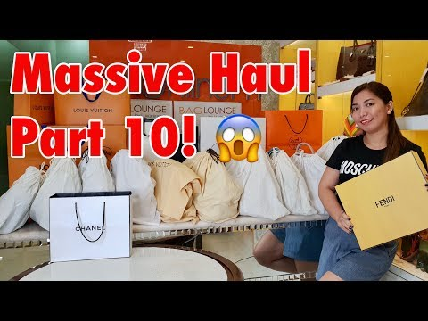 Massive Luxury Haul 2018 Part 10!!!