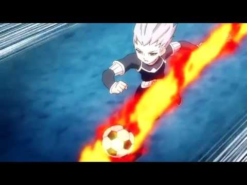 Inazuma Eleven GO Chrono Stone [Kami No Takuto Fire Illusion + Shoot Command 24]