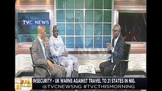 UK warns against travel to 21 states