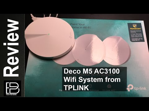 TP-Link Deco M5 Whole Home Wi-Fi System review and setup