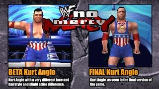 WWF No Mercy - Beta vs Final Version (N64)