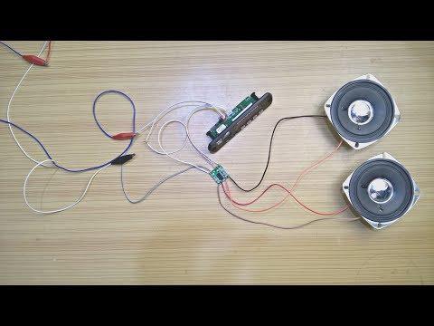 Make Your Own Cheap Portable MP3 Player (Part 1) | Bluetooth, USB, AUX, SD Card, FM