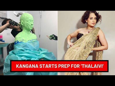 Kangana Ranaut goes through Prosthetic Measurements for 'Thalaivi' | SpotboyE Mp3