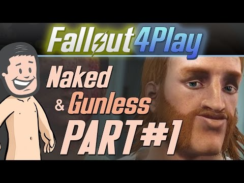 Fallout 4 Naked & Gunless - #1 Roger McGroin Fights a Deathclaw