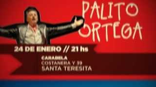 24 DE ENERO - PALITO ORTEGA EN VIVO