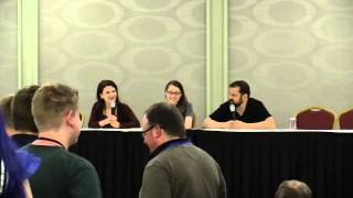 Trotcon IV (2015) - Voice Actors - Kelly Sheridan, Brian & Brynna Drummond