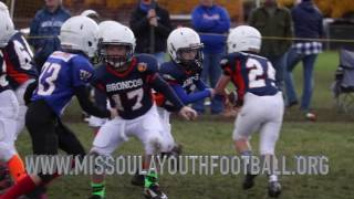 Missoula Youth Football 2016 Week 6 Highlights