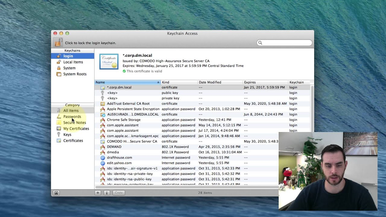 Can You Disable Keychain on Mac - YouTube 0576e7e30