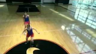 Nike Strobe Goggles Training Video - Soccer Wall Ball Trap Drill