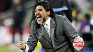 Maradona Marca un golazo de antologia a sus 56 años!