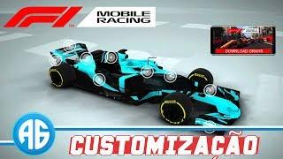 F1 MOBILE RACING - CUSTOMIZANDO O CARRO DE F1 (Português-BR) iPhone 6s plus