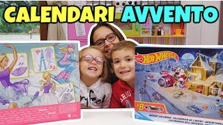 CALENDARIO dell'AVVENTO DI COPPIA: Barbie e Hot Wheels