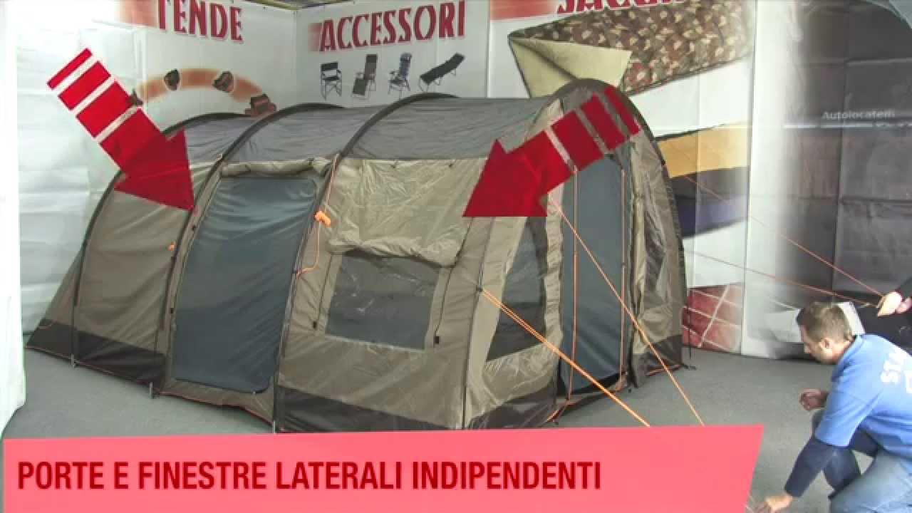 Montaggio tende da campeggio ONTARIO - BERTONI - YouTube