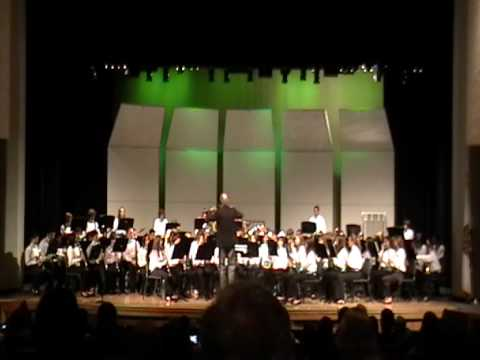 Sinaloa Middle School Concert Band - Declaration in Blue