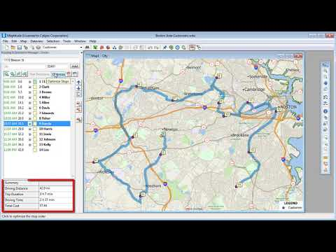 Routing - Route Planning - Route Mapping on