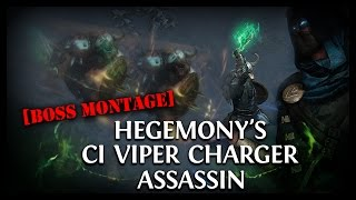 HegeVenom Ci Viper Strike/Shield Charge Assassin Boss Montage (Gameplay)