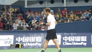 2015 Shanghai Rolex Masters - Semi-final highlights feat. Djokovic, Murray & Nadal
