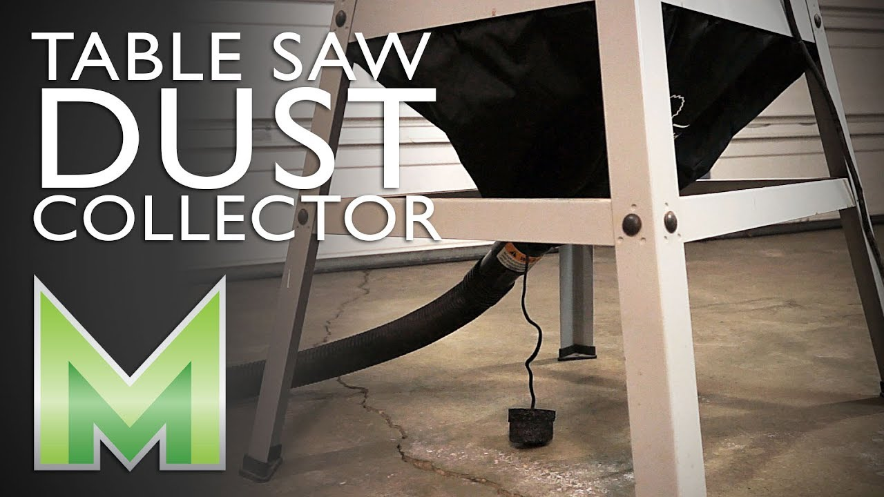 How to Install a Table Saw Dust Collector - Milescraft ...