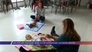 Yvelines | Un atelier massage bébé pour apprendre les bons gestes