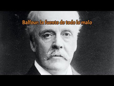 Balfour: la fuente de todo lo malo /  INTRA  el genocidio británico