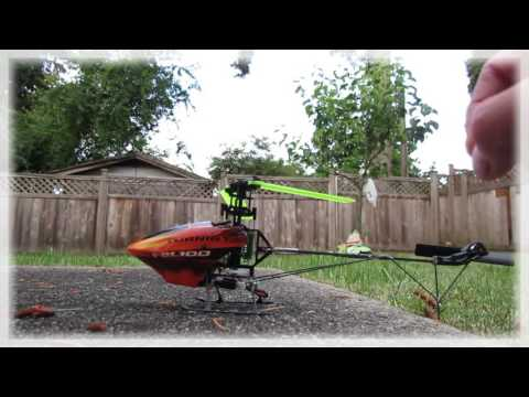 RC Helicopter Turnigy FBL100 3D Micro Helicopter Testflight RC Helicopter