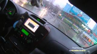 Вождение урок № 7 автомагистраль 110 км/ч развиваем скорость