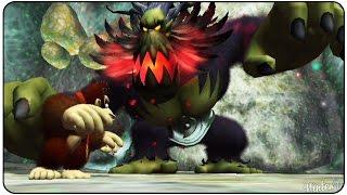 Donkey Kong Jungle Beat - All Bosses