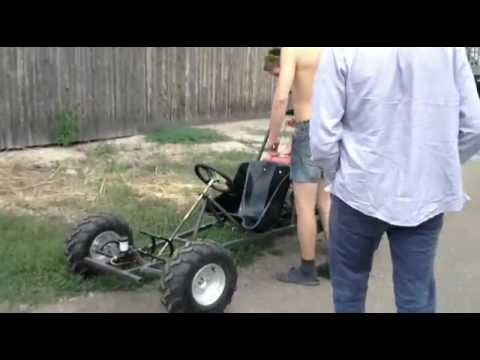 Kids go kart (how to build a