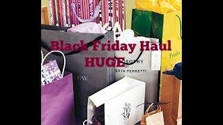 Huge Black Friday Haul 2014 Thumbnail