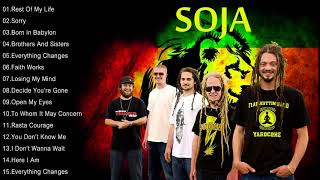The Best Songs Of SOJA - SOJA Greatest Hits