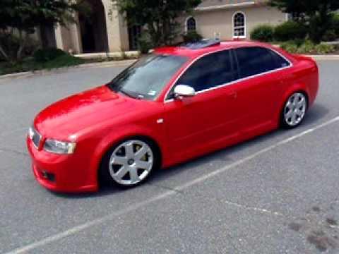 Custom Audi S4 >> Audi B6 S4 AWE Exhaust - YouTube