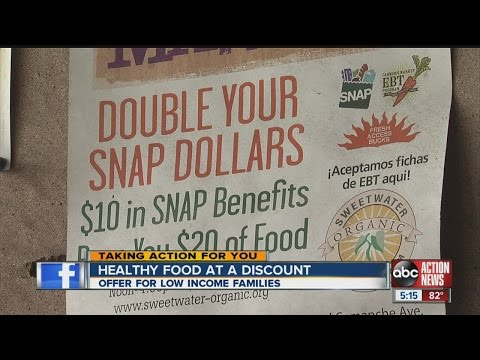Healthy food at a discount