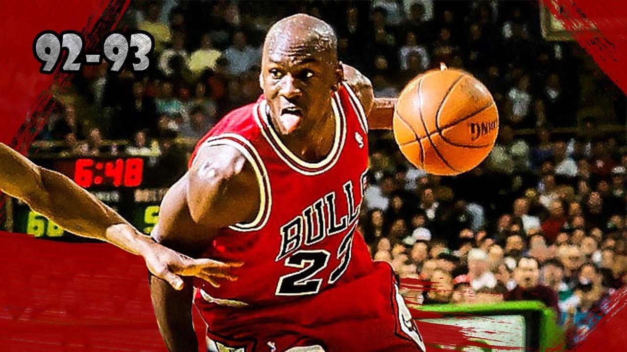ffa7662dbbc Michael Jordan Highlights vs Celtics (1993.04.04) - 32pts