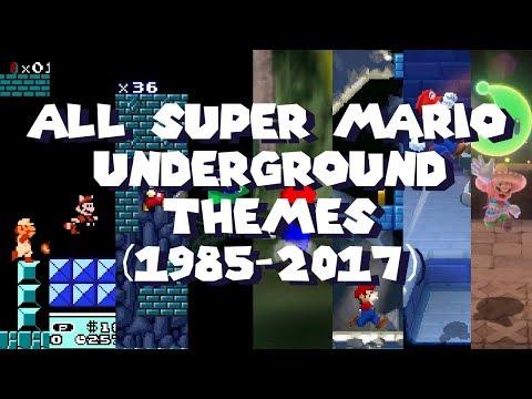 All Super Mario Underground themes (1985-2017)