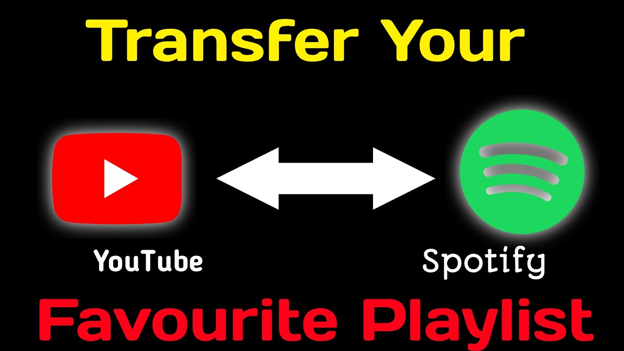 How To Transfer Youtube Playlist To Spotify Convert Youtube Playlist To Spotify Song Transfer Youtube