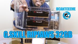 Unboxing | G.Skill Ripjaws V Series DDR4 | 32GB & SoDimm Laptop | My FIRST GAMING PC BUILD SERIES