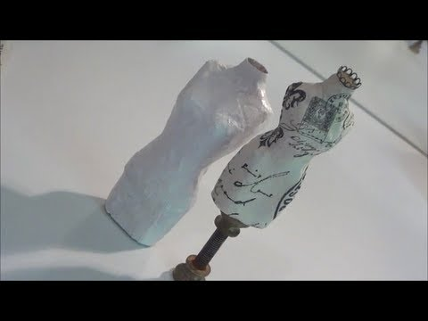DIY Paper Mache Dressform Tutorial