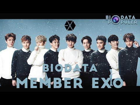 Biodata Member EXO Lengkap Terbaru   Profil Member EXO