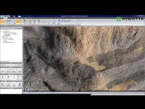 Virtual Mine Survey and 3D Model