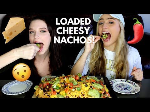 CHEESY LOADED NACHO MOUNTAIN! vegan nacho recipe