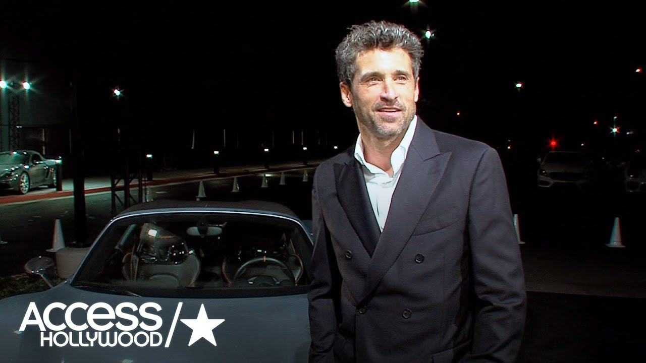 Patrick Dempsey Reveals He Wife Jillian Have Had Steamy Moments In Their Car Exclusive