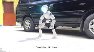 Cinema 4D | Robot Animation Test