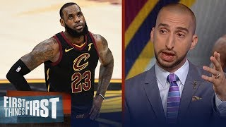 Nick Wright on why there's now chance LeBron James stays in Cleveland   NBA   FIRST THINGS FIRST