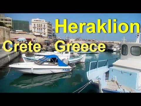 Heraklion Crete   Greece   June 2018