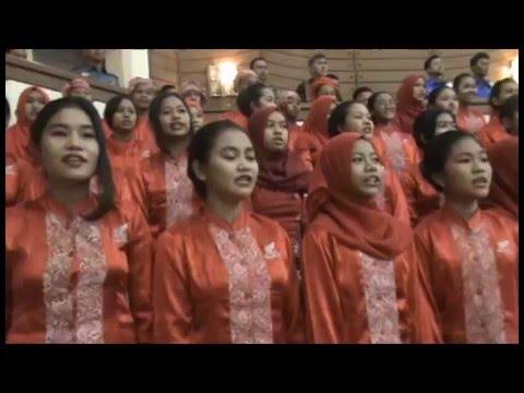 HUT Ke 31 Yayasan Hang Tuah Lagu Indonesia Raya & Mars Hang Tuah