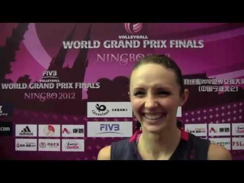 FIVB Volleyball World Grand Prix Finals - Ningbo 2012 - Kristin Richards