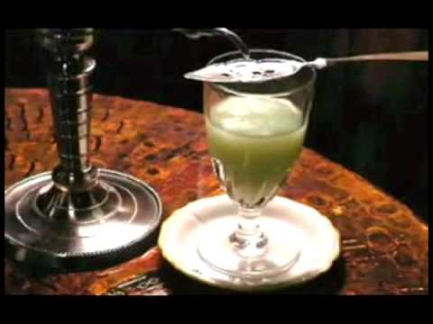 Two rituals to make Absinthe