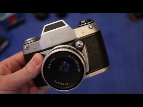 Gustaf's Thrift Hauls - Vintage camera & lens lot #004