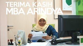 Terima Kasih Mba Arindya :) | BPJS Ketenagakerjaan Kantor Cabang Jakarta Pulogebang