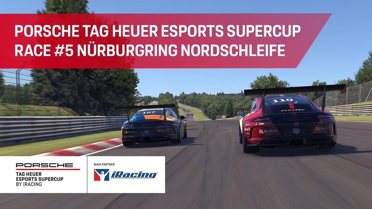 Porsche TAG Heuer Esports Supercup Teaser Race #5 Nürburgring Nordschleife